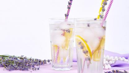 Lavendellimonade Selbstgemacht