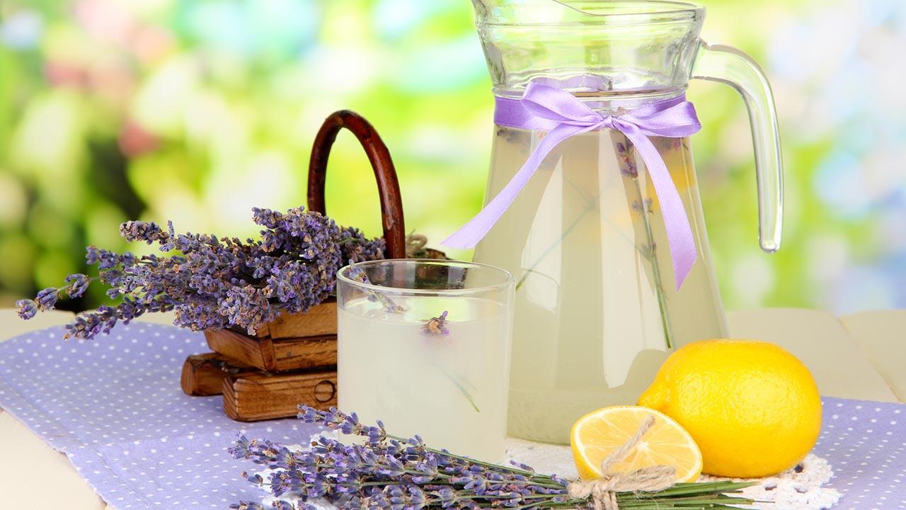 Lavendellimonade Selbstgemacht - Lavendellimonade Selbstgemacht