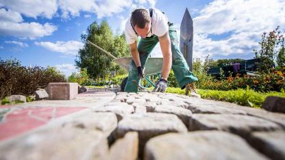 Tipps zum Pflastern einer Steinterrasse