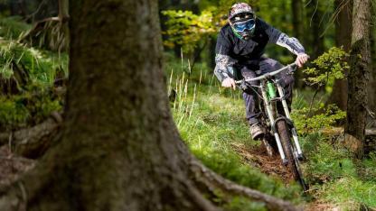 Bikeparks in Franken - in voller Fahrt