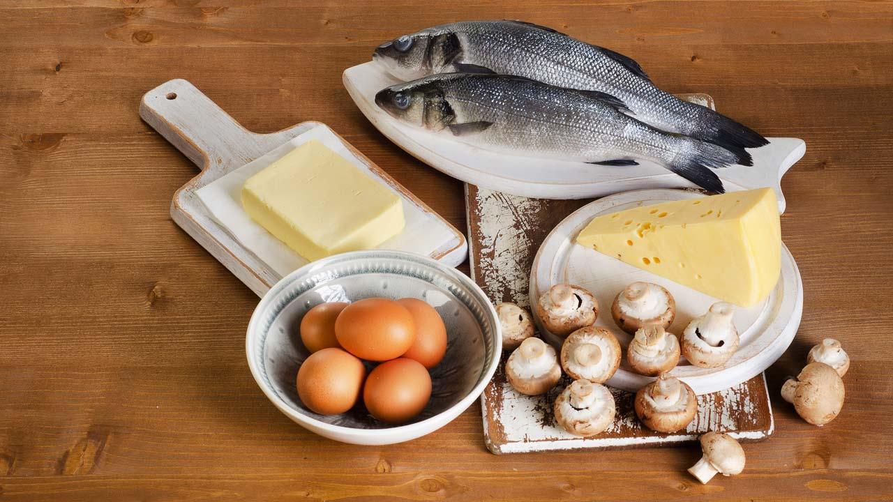 Nahrungsergänzungsmittel - Welche Vitamine benötigt der Körper im Winter - Nahrungsmittel mit Vitamin D