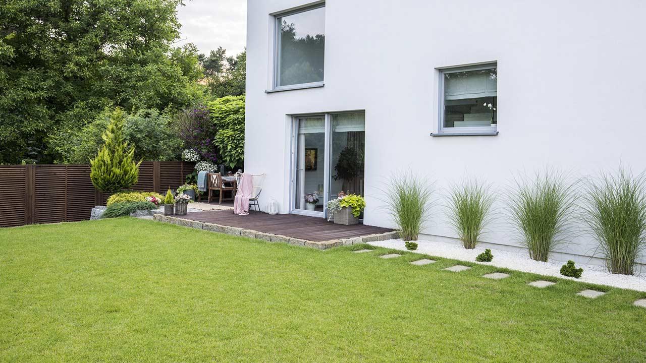 Der perfekte Rasen - eigener Garten