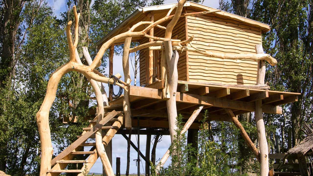 Baumhaus - Vom Kindertraum zum Schlafzimmer in den Bäumen - Luxusmodell