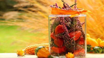 Herbstliche Dekoration für Ihren Garten