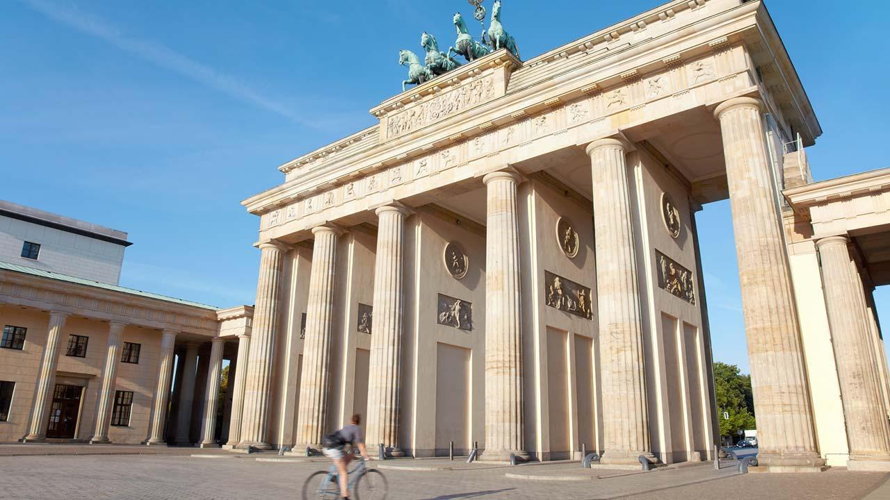 Mit dem Rad die Stadt erkunden: Berlin - Brandenburger Tor