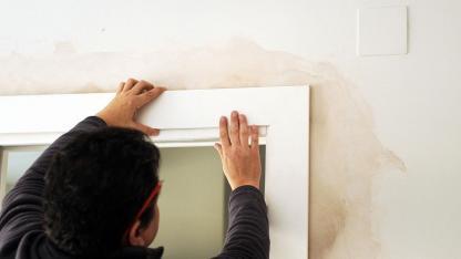 Pflegen sie auch im Winter Türen und Fenster
