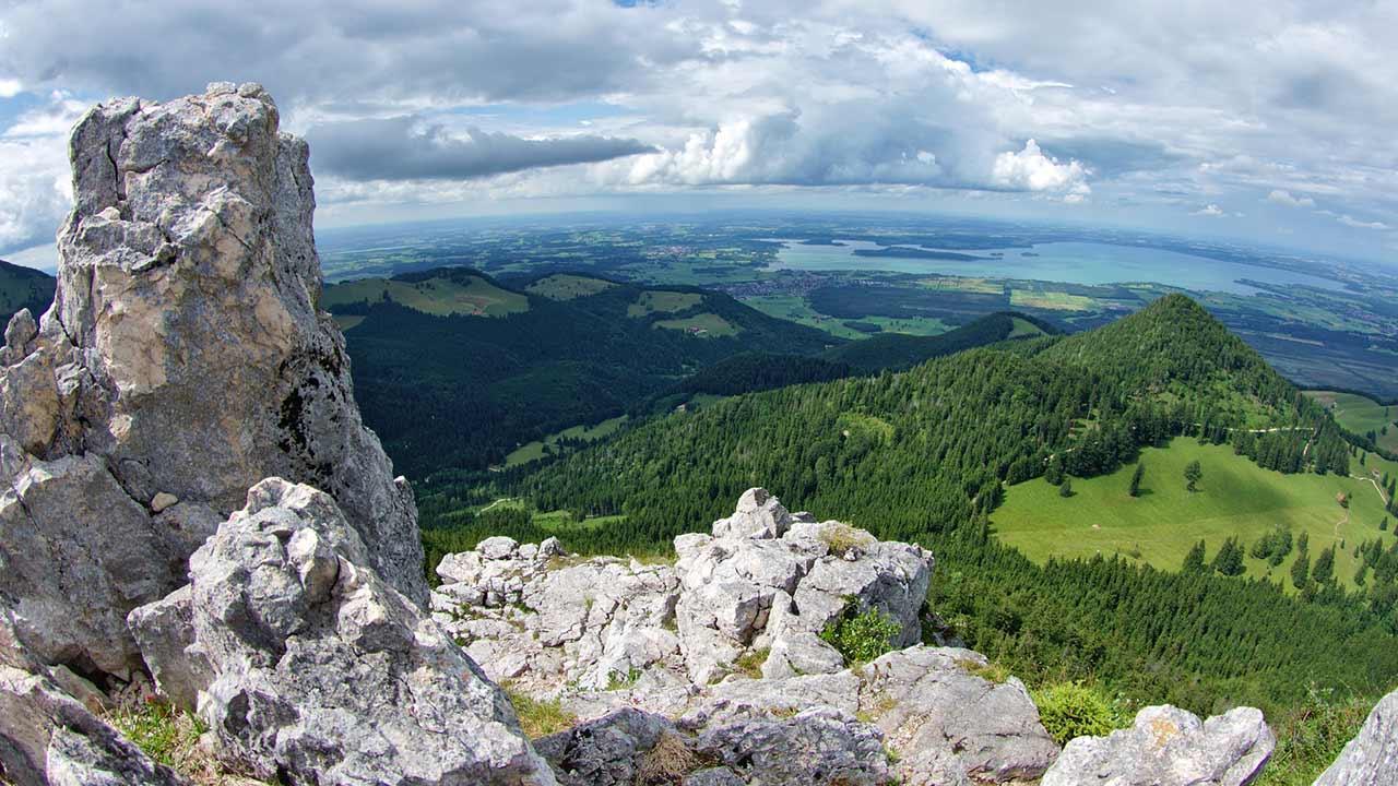 Wandern im Chiemgau - Weitblick