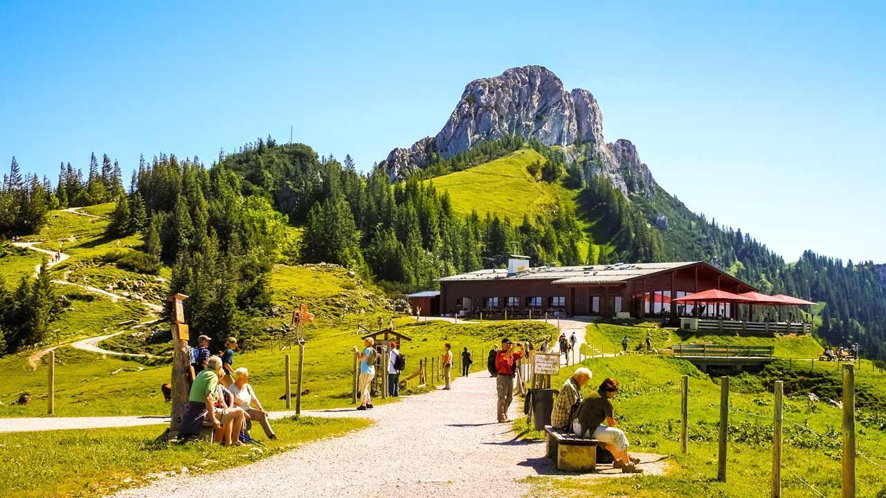 Wandern im Chiemgau - Sonnenalm