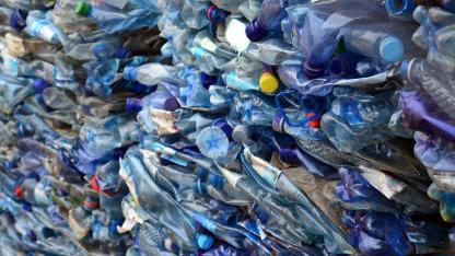Nachhaltigkeit - Plastikflasche
