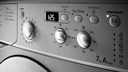 Tipps für die Anschaffung einer neue Waschmaschine - Bedienungskonsole