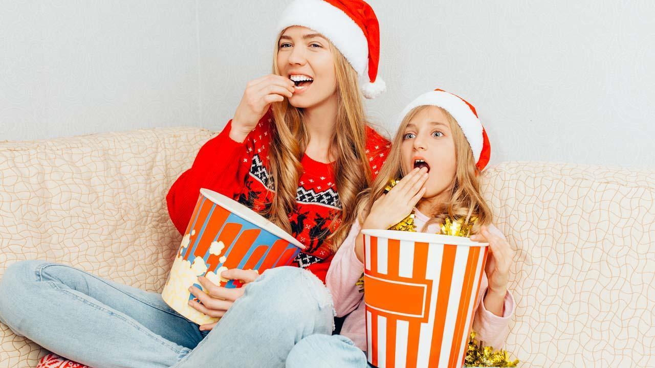 Filmklassiker zu Heiligabend - mit Popcorn