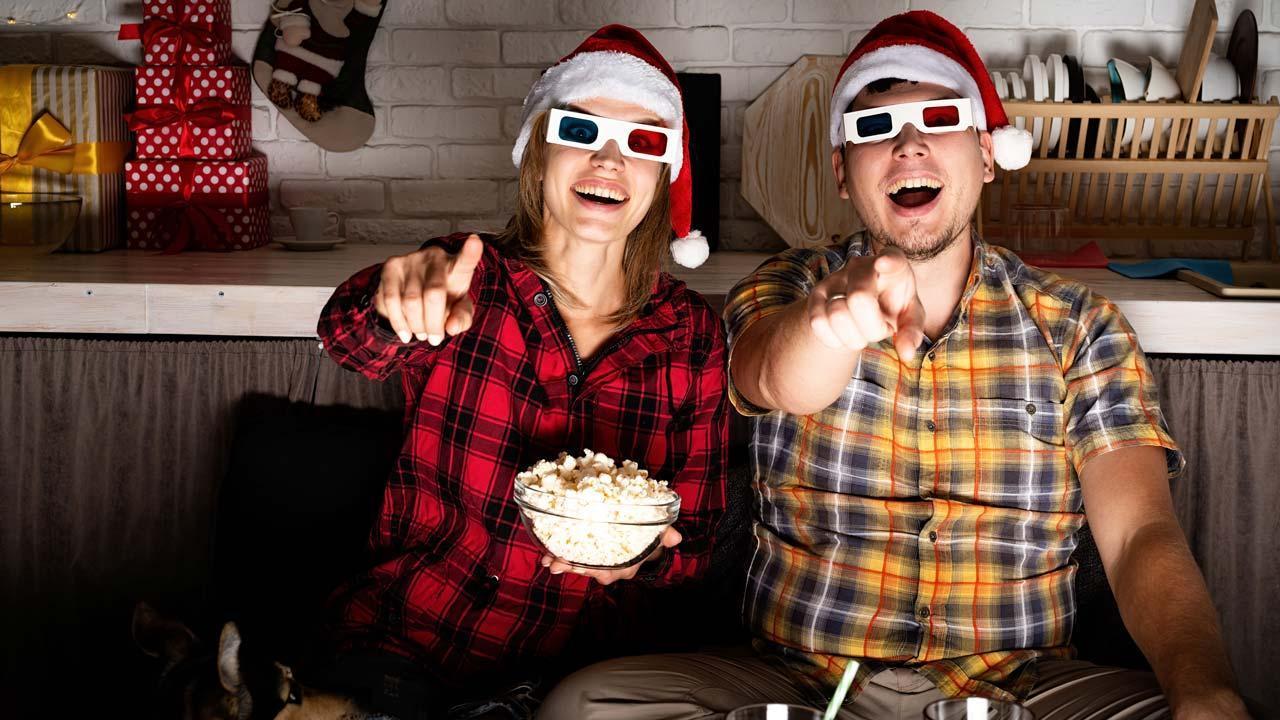 Filmklassiker zu Heiligabend - mit 3D Brillen