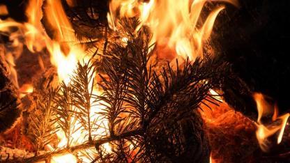 Brände an Weihnachten vermeiden