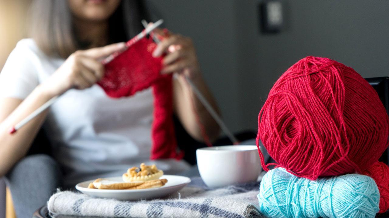 Warme Socken für den kalten Winter stricken - Stricken mit Kaffee