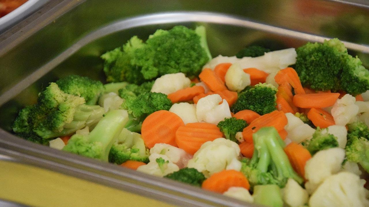 Der neue Segen in der Küche - der Dampfgarer - Gemüse in vollen Farben