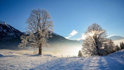 Das Salzburger Land im Winter