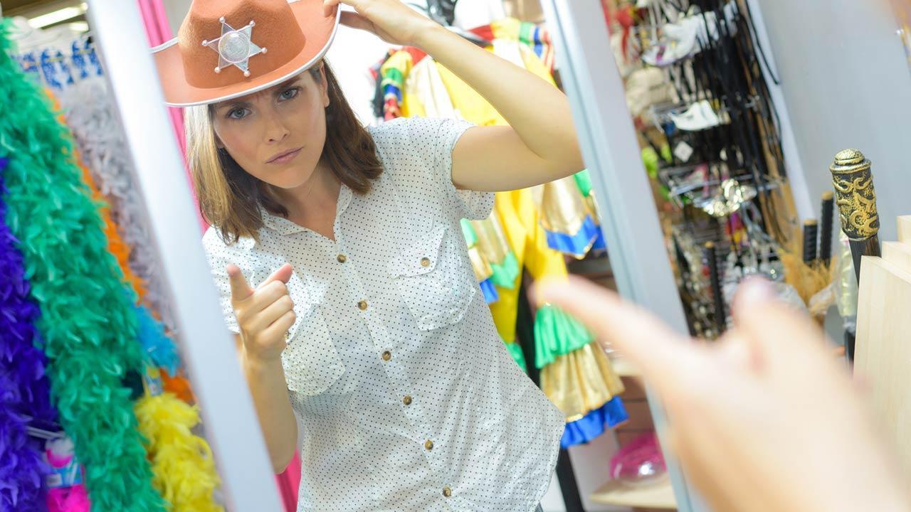 Schnell verkleidet - Kein Kostüm bei der Hand - Cowboykostüm
