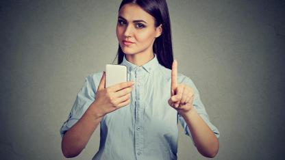 Fastenzeit von Medien und Smartphone