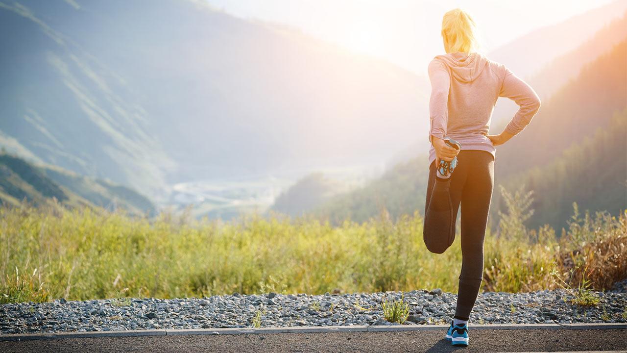 Tipps für Laufeinsteiger - Stretching