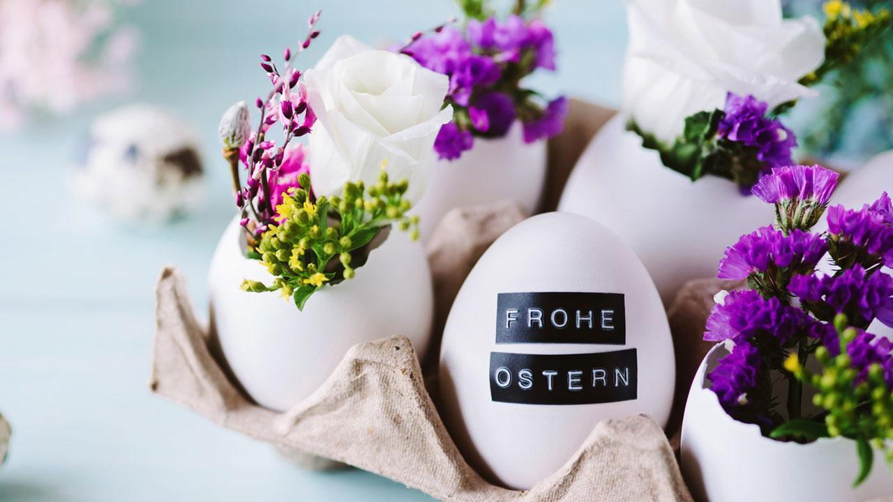 Oster Deko für Zuhause - Blumendeko