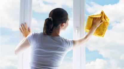 Hausmittel zum Fenster putzen