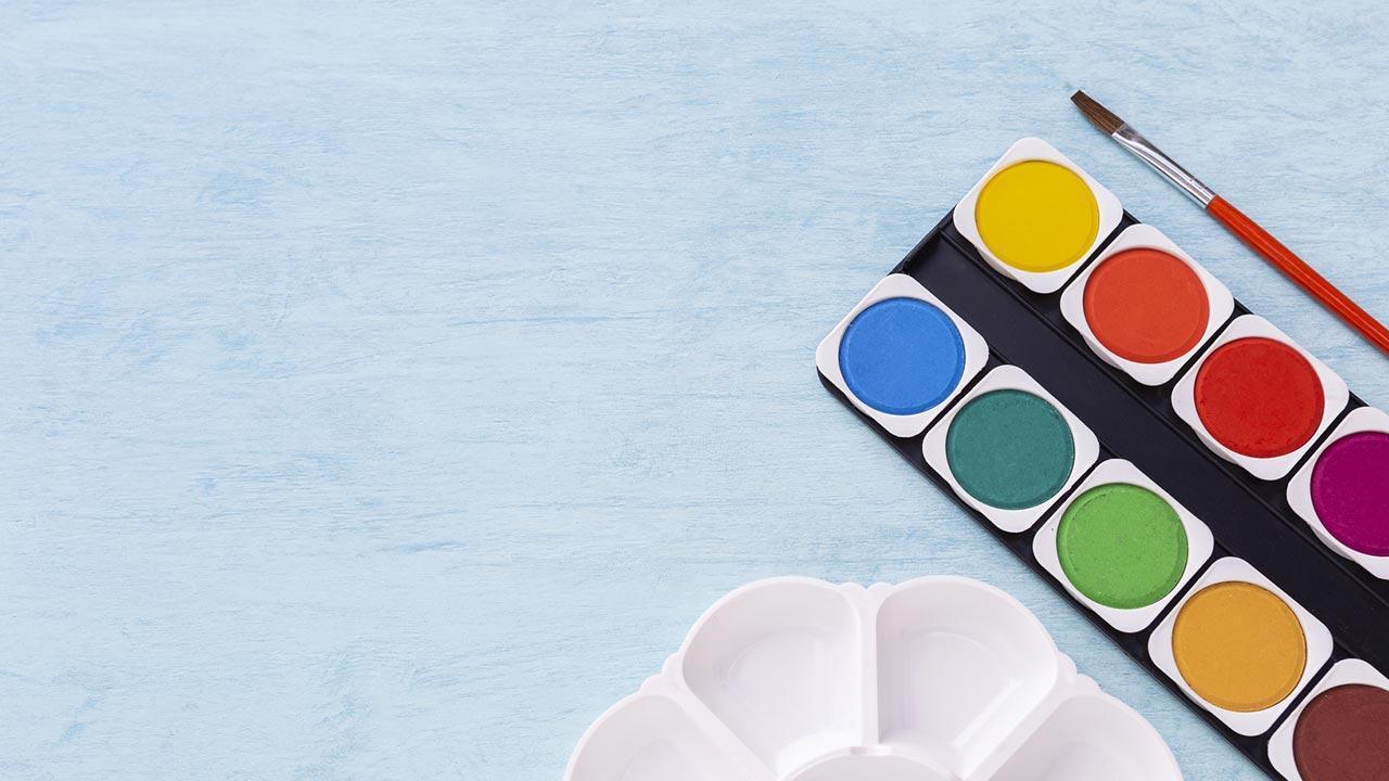 Einstieg in die Hobby-Malerei - Aquarell - Malkasten