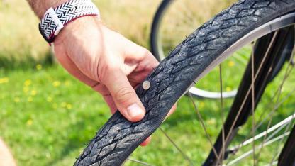 Schlauchloses Fahrrad