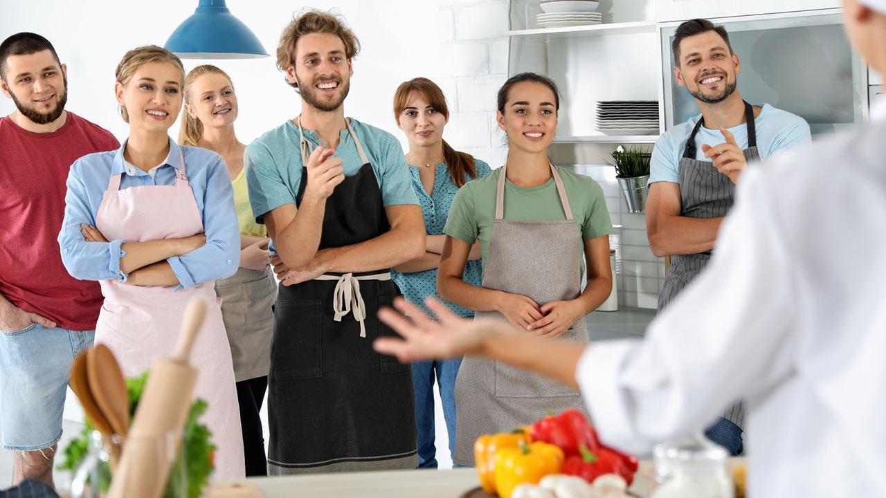 Kochevent - mit oder ohne Profi - Koch hält Vortrag