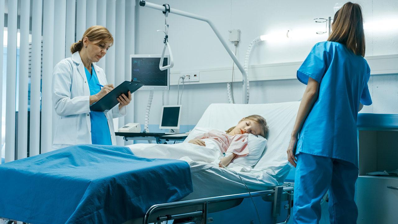 Grey´s Anatomy - Die besten Fernsehserien zum Bügeln - Krankenbett