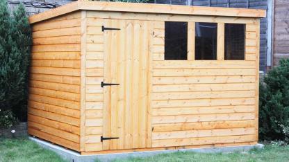 DIY Gartenhaus - einfache Gartenhaus