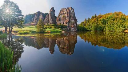 Touren-Tipps fürs Wandern im Teutoburger Wald - die Extermsteine