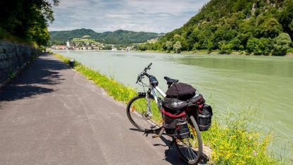 Fahrradtour an der Donau