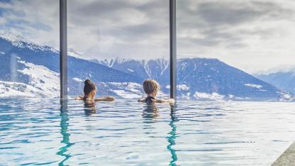 Die schönsten Erlebnisbäder in der Schweiz - Bergpanorama