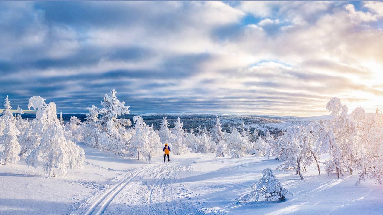 Die besten Langlaufloipen in Bayern - perfekte Winterlandschaft