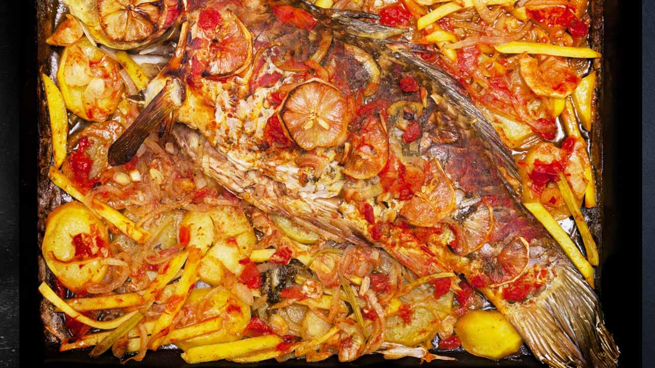 Schmackhafte Karpfenrezepte - überbacken