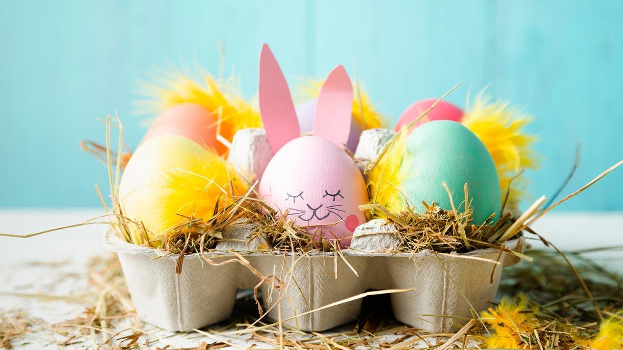 Oster Deko für Zuhause - Deko im Eierbecher