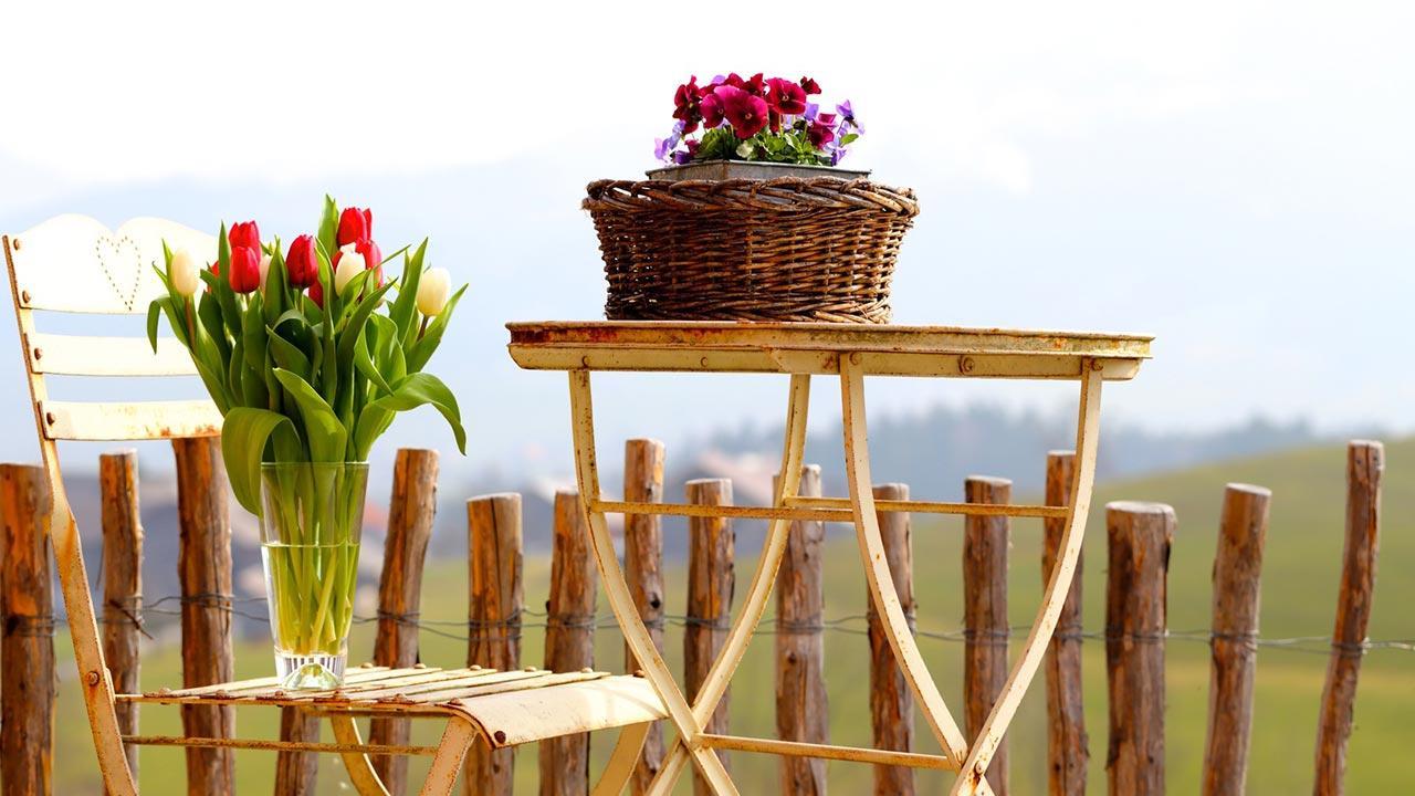 Die schönsten Oster Deko-Ideen für Garten und Terrasse - Blumen