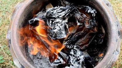 Der selbstgebaute Grill