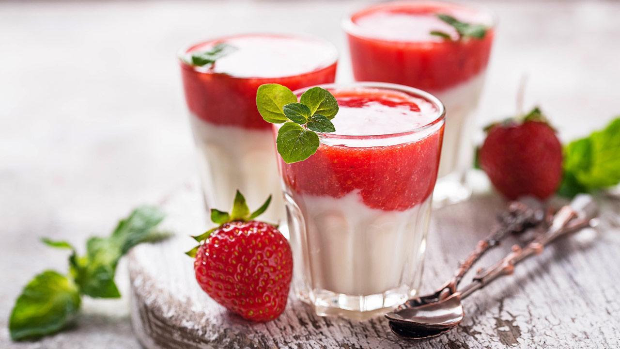 Leckere Rezepte mit Erdbeeren - Dessert
