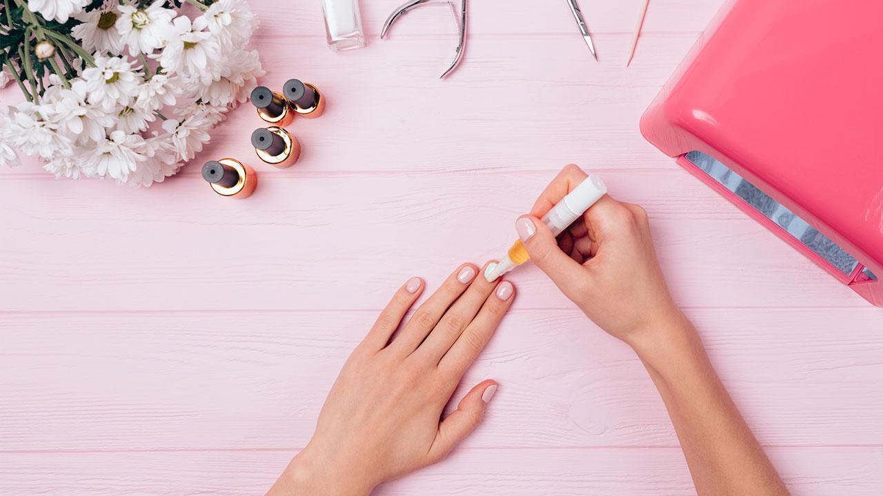 Alternativen zum Nagellack - Nagelstift