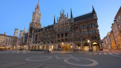 Mit dem Rad die Stadt erkunden: München