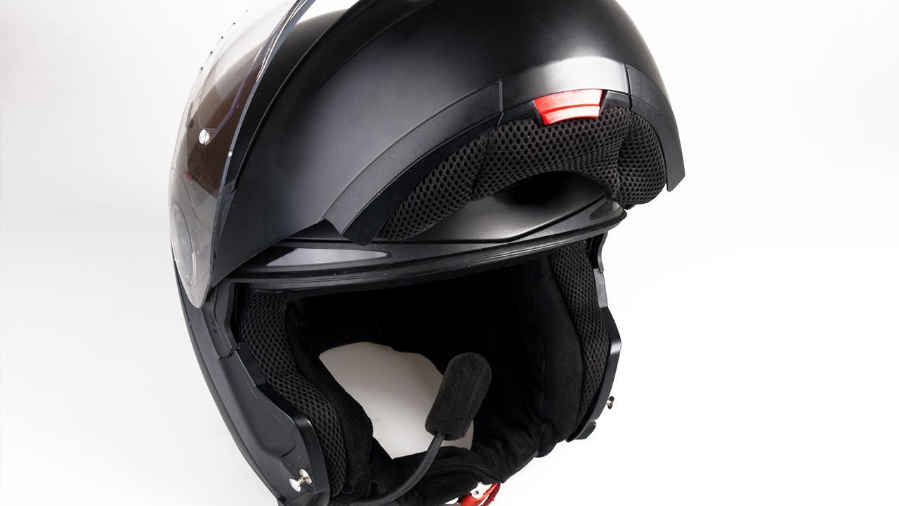 Motorradhelm - worauf muss ich achten? / Klapphelm mit Sprechfunk