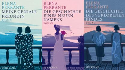 Mein Buchtipp im Juli: Elena Ferrante Band 1-4