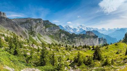 Wandern in der Schweiz - Faulhorn