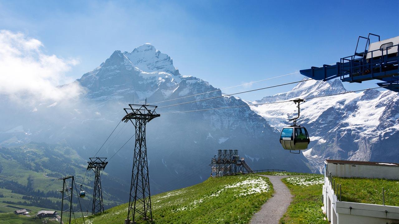 Wandern in der Schweiz - Faulhorn /  Firstbahn bei Grindelwald
