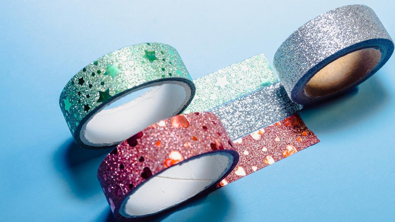 Die schönsten Deko-Ideen mit: Masking Tape / glitzernde Masking Tapes