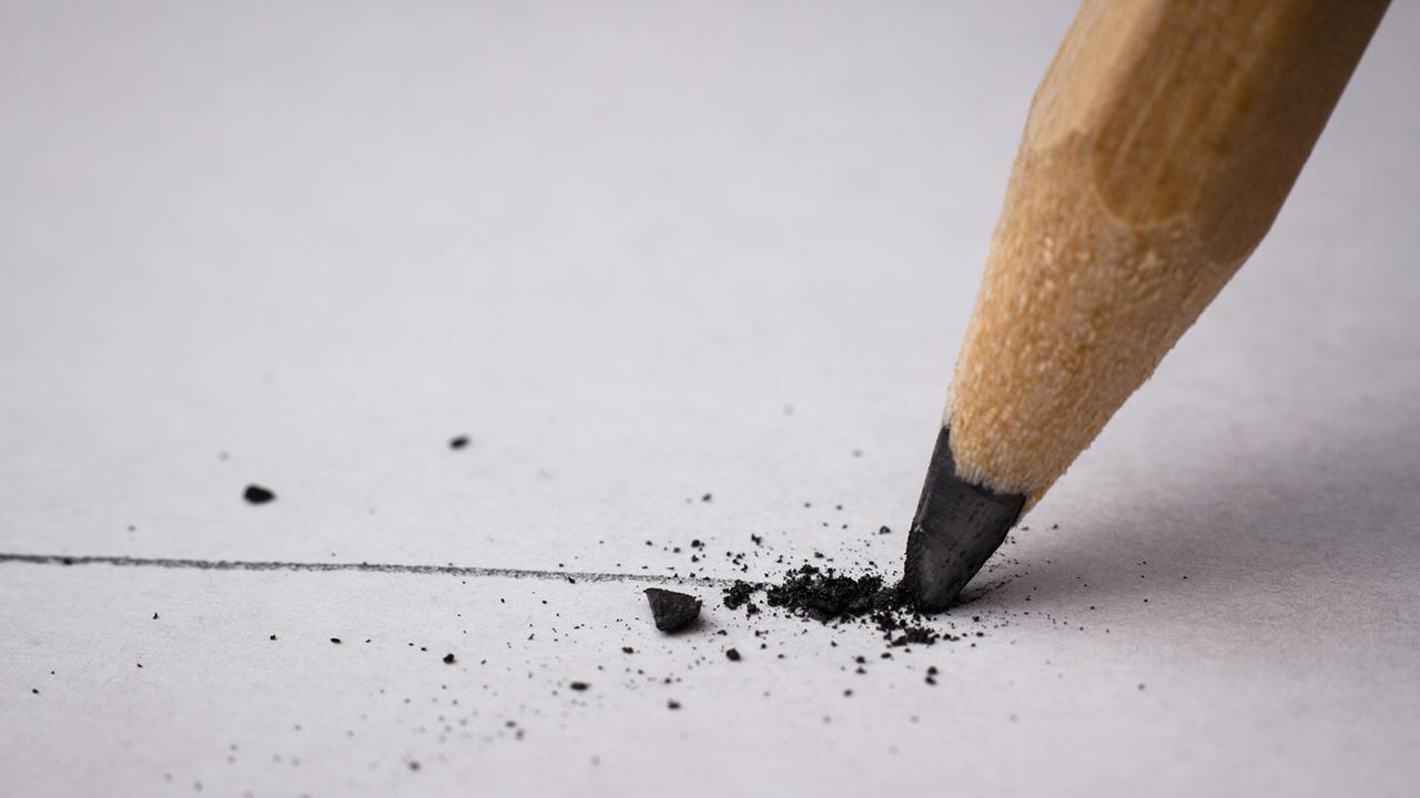 Einstieg in die Hobby-Malerei - Bleistift / Bleistift beim Zeichnen