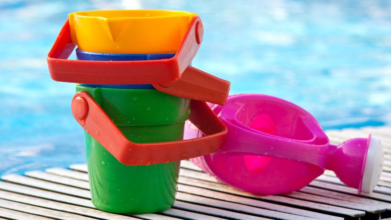Kinder-Wasserspielzeug für den Garten / Wasserspielzeug für kleine Kinder
