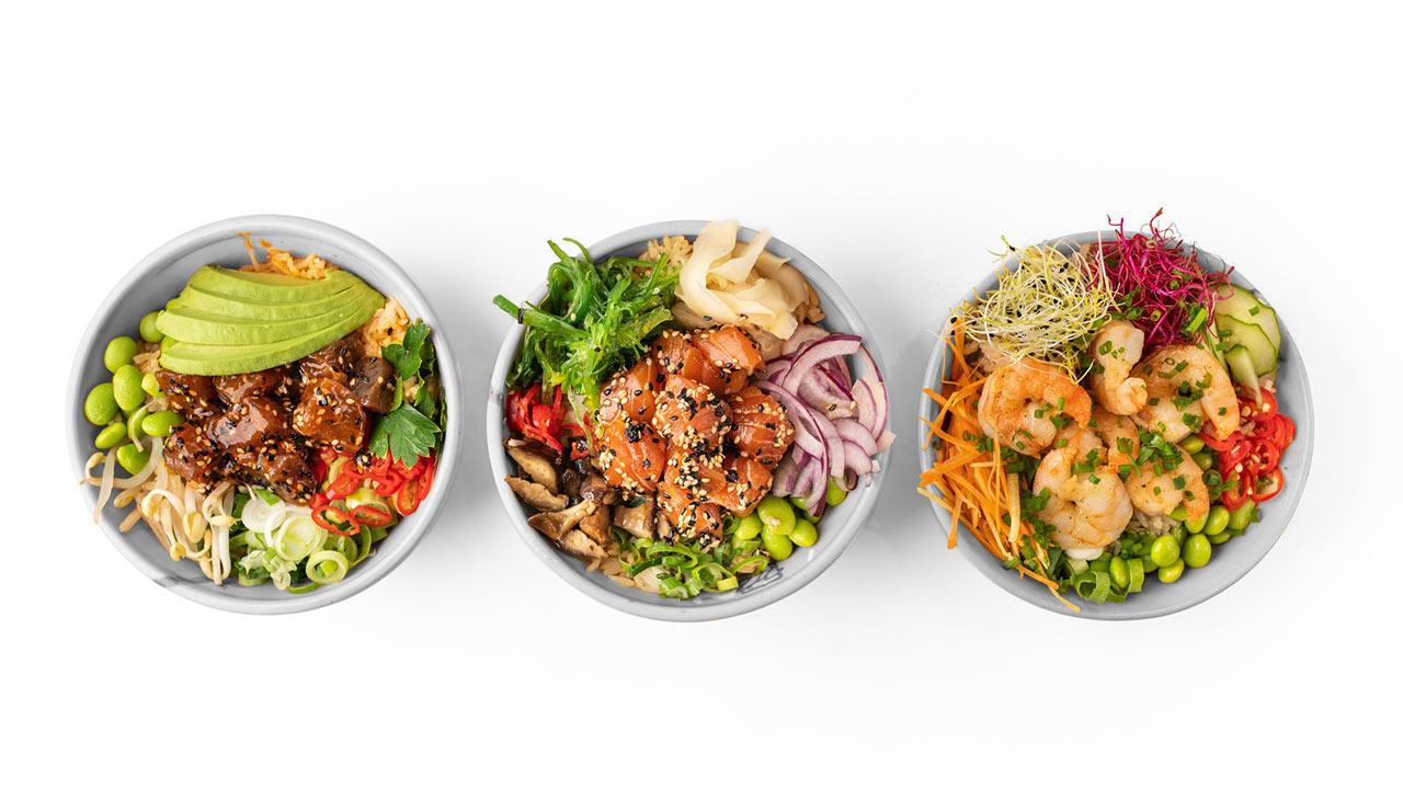 Poke - Fischsalat aus Hawaii / verschiedene Pokes
