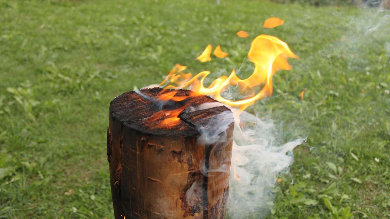 Schwedenfeuer für meinen Garten / ein Schwedenfeuer im Garten